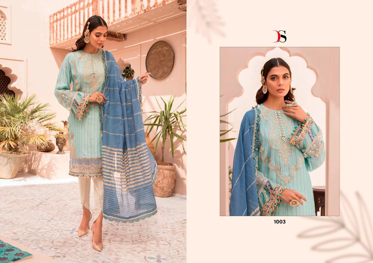 Deepsy Maria B Lawn 21 Vol 3 Salwar Suit Wholesale Catalog 7 Pcs 4 - Deepsy Maria B Lawn 21 Vol 3 Salwar Suit Wholesale Catalog 7 Pcs