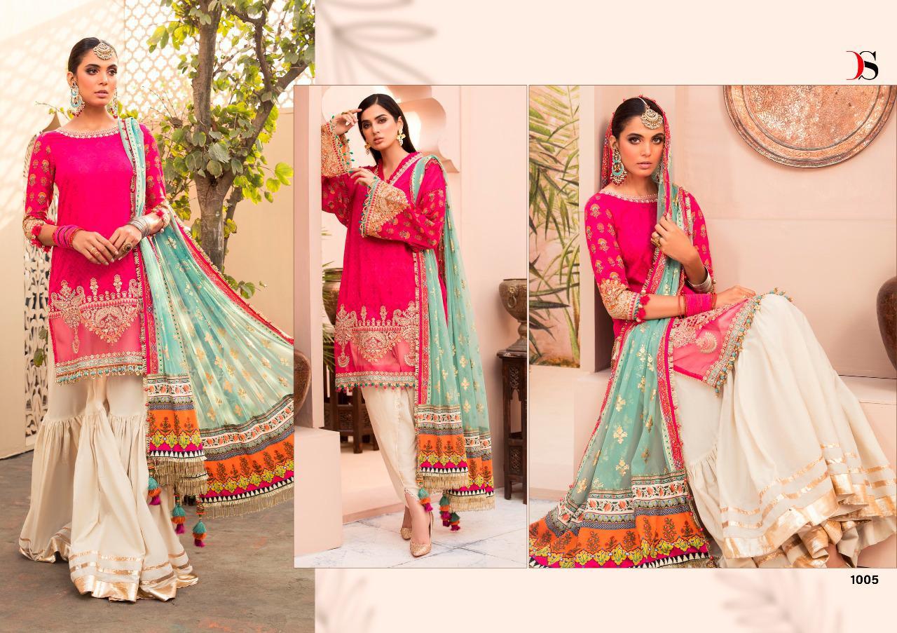 Deepsy Maria B Lawn 21 Vol 3 Salwar Suit Wholesale Catalog 7 Pcs 5 - Deepsy Maria B Lawn 21 Vol 3 Salwar Suit Wholesale Catalog 7 Pcs