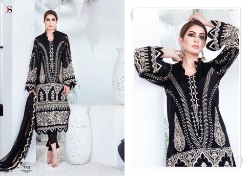 Deepsy Maria B Lawn 21 Vol 3 Salwar Suit Wholesale Catalog 7 Pcs 6 1 510x360 - Deepsy Maria B Black Beauty Salwar Suit Wholesale Catalog 5 Pcs