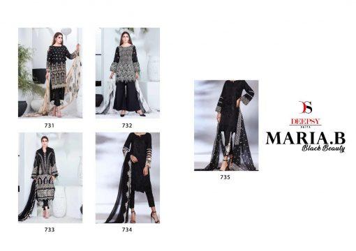 Deepsy Maria B Lawn 21 Vol 3 Salwar Suit Wholesale Catalog 7 Pcs 7 1 510x360 - Deepsy Maria B Black Beauty Salwar Suit Wholesale Catalog 5 Pcs