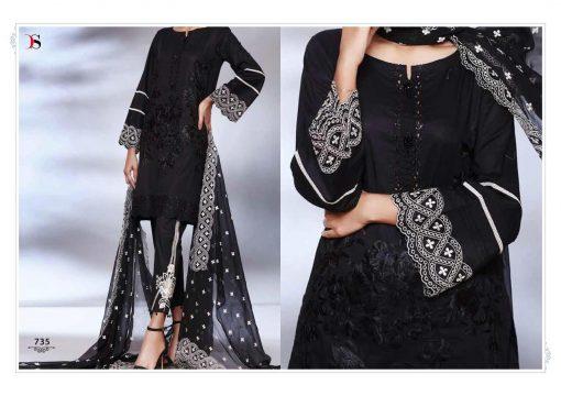 Deepsy Maria B Lawn 21 Vol 3 Salwar Suit Wholesale Catalog 7 Pcs 8 1 510x360 - Deepsy Maria B Black Beauty Salwar Suit Wholesale Catalog 5 Pcs