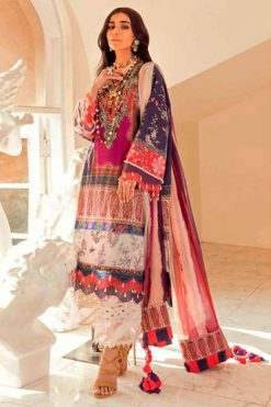 Deepsy Sana Safinaz Muzlin Vol 3 Salwar Suit Wholesale Catalog 8 Pcs