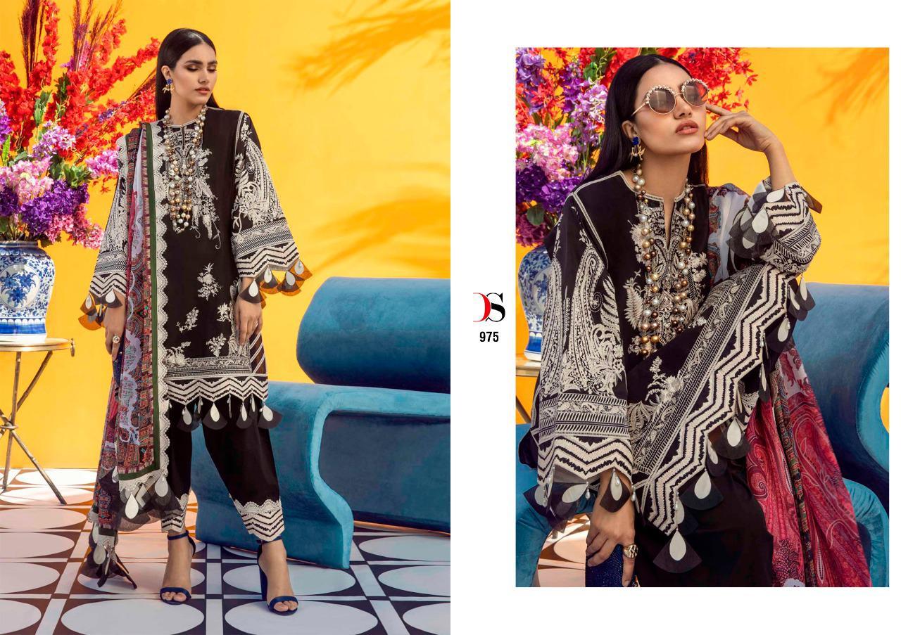 Deepsy Sana Safinaz Muzlin Vol 3 Salwar Suit Wholesale Catalog 8 Pcs 4 - Deepsy Sana Safinaz Muzlin Vol 3 Salwar Suit Wholesale Catalog 8 Pcs