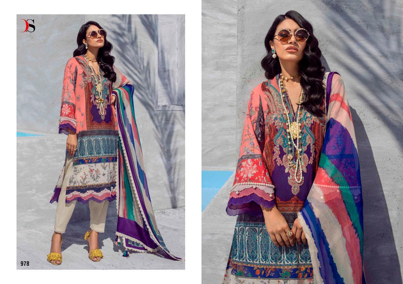 Deepsy Sana Safinaz Muzlin Vol 3 Salwar Suit Wholesale Catalog 8 Pcs 9 - Deepsy Sana Safinaz Muzlin Vol 3 Salwar Suit Wholesale Catalog 8 Pcs