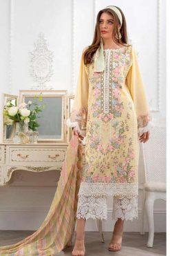 Deepsy Sobia Nazir Luxurious Lawn Vol 21 Salwar Suit Wholesale Catalog 7 Pcs