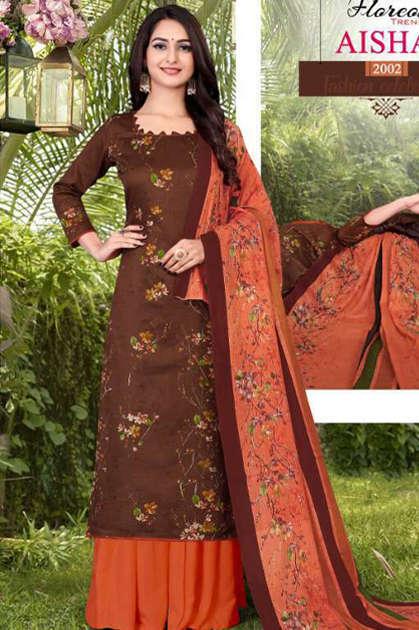 Floreon Trends Aisha Vol 2 Salwar Suit Wholesale Catalog 10 Pcs