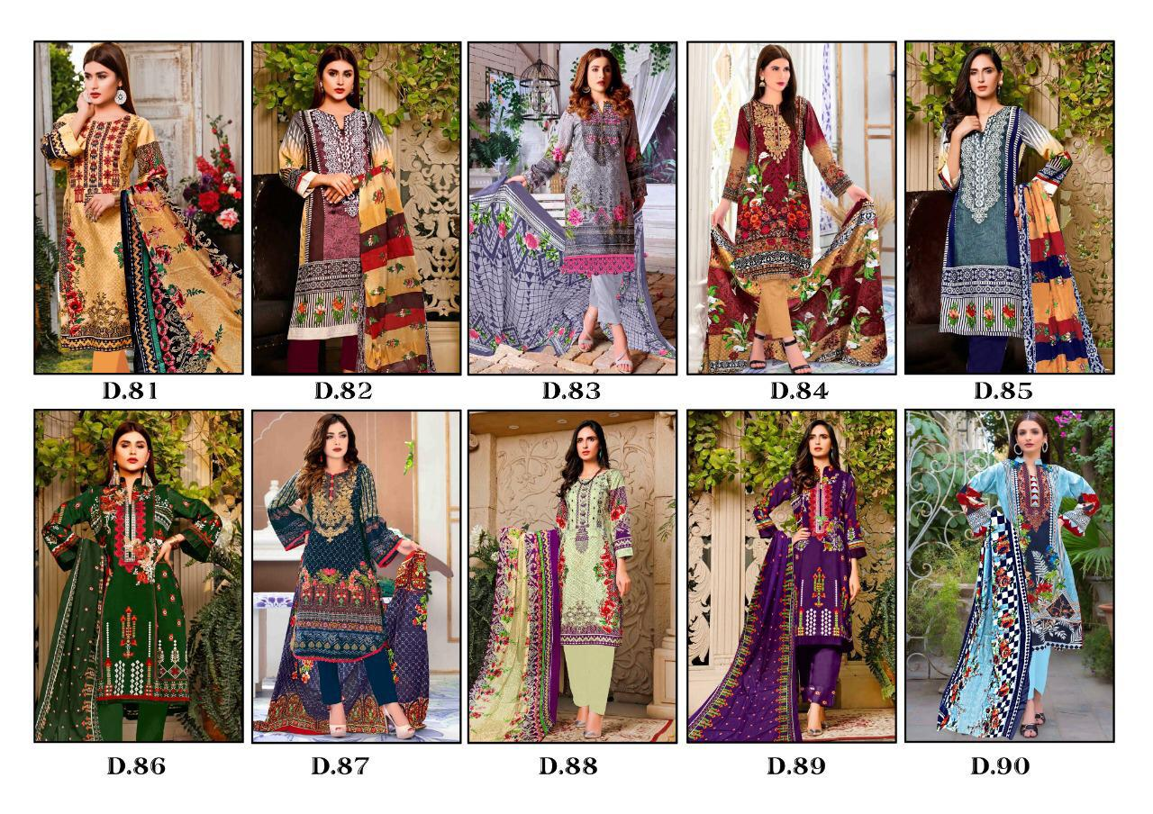 Gull AAhmed Vol 9 Lawn Colletion Salwar Suit Wholesale Catalog 10 Pcs 14 - Gull AAhmed Vol 9 Lawn Colletion Salwar Suit Wholesale Catalog 10 Pcs