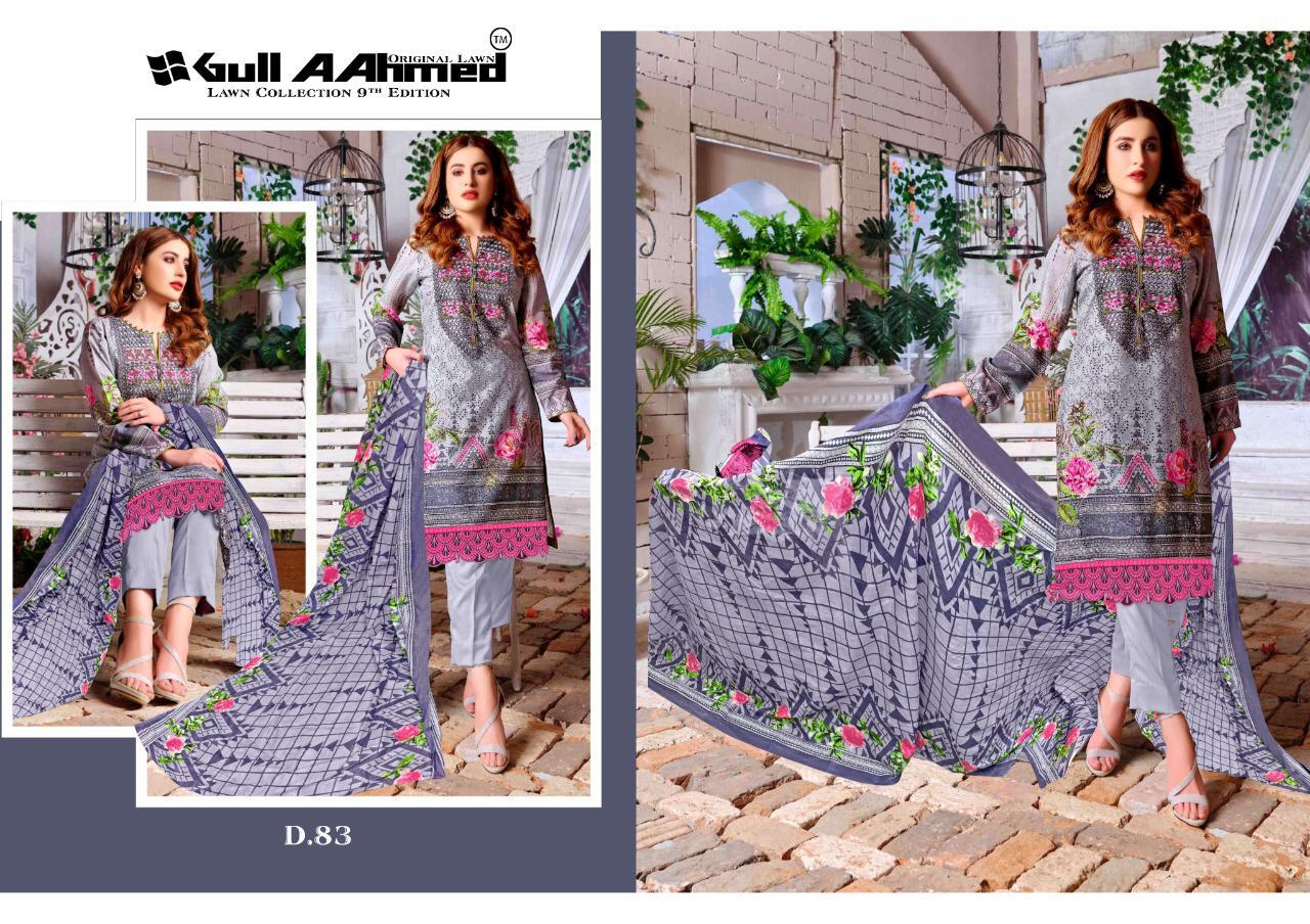 Gull AAhmed Vol 9 Lawn Colletion Salwar Suit Wholesale Catalog 10 Pcs 2 - Gull AAhmed Vol 9 Lawn Colletion Salwar Suit Wholesale Catalog 10 Pcs