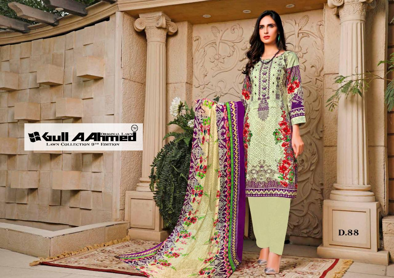 Gull AAhmed Vol 9 Lawn Colletion Salwar Suit Wholesale Catalog 10 Pcs 7 - Gull AAhmed Vol 9 Lawn Colletion Salwar Suit Wholesale Catalog 10 Pcs