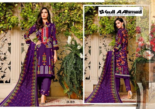Gull AAhmed Vol 9 Lawn Colletion Salwar Suit Wholesale Catalog 10 Pcs 8 510x360 - Gull AAhmed Vol 9 Lawn Colletion Salwar Suit Wholesale Catalog 10 Pcs