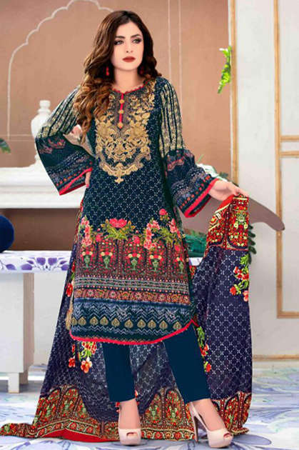 Gull AAhmed Vol 9 Lawn Colletion Salwar Suit Wholesale Catalog 10 Pcs - Gull AAhmed Vol 9 Lawn Colletion Salwar Suit Wholesale Catalog 10 Pcs