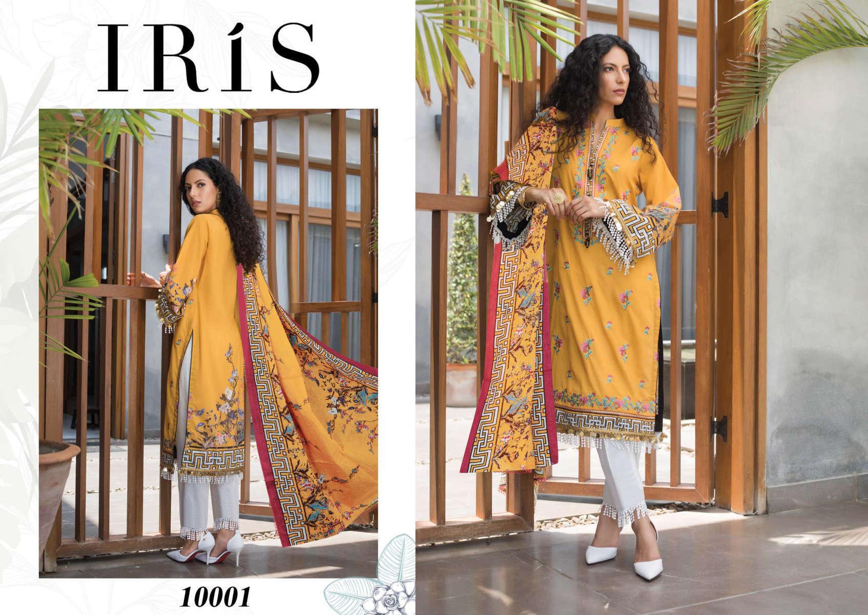 Iris Vol 10 Karachi Cotton Salwar Suit Wholesale Catalog 10 Pcs 3 - Iris Vol 10 Karachi Cotton Salwar Suit Wholesale Catalog 10 Pcs