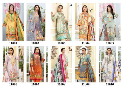 Iris Vol 11 Karachi Cotton Salwar Suit Wholesale Catalog 10 Pcs 12 1 510x361 - Iris Vol 11 Karachi Cotton Salwar Suit Wholesale Catalog 10 Pcs