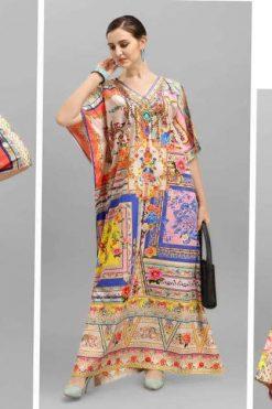 Jelite Afreen Kaftans Vol 2 Kurti Wholesale Catalog 8 Pcs 247x371 - Floreon Trends Celebrity Vol 2 Salwar Suit Wholesale Catalog 12 Pcs