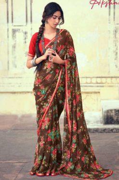 Kashvi Akshara by Lt Fabrics Saree Sari Wholesale Catalog 10 Pcs