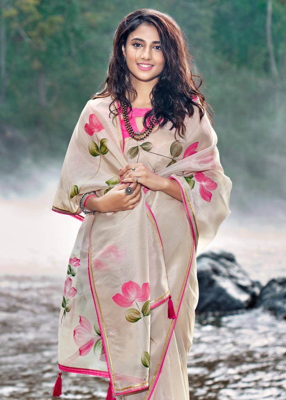 Kashvi Amor by Lt Fabrics Saree Sari Wholesale Catalog 5 Pcs 14 - Kashvi Amor by Lt Fabrics Saree Sari Wholesale Catalog 5 Pcs