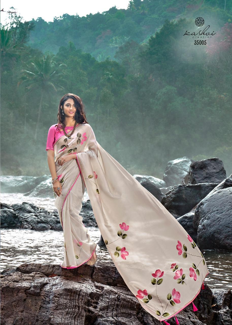 Kashvi Amor by Lt Fabrics Saree Sari Wholesale Catalog 5 Pcs 15 - Kashvi Amor by Lt Fabrics Saree Sari Wholesale Catalog 5 Pcs