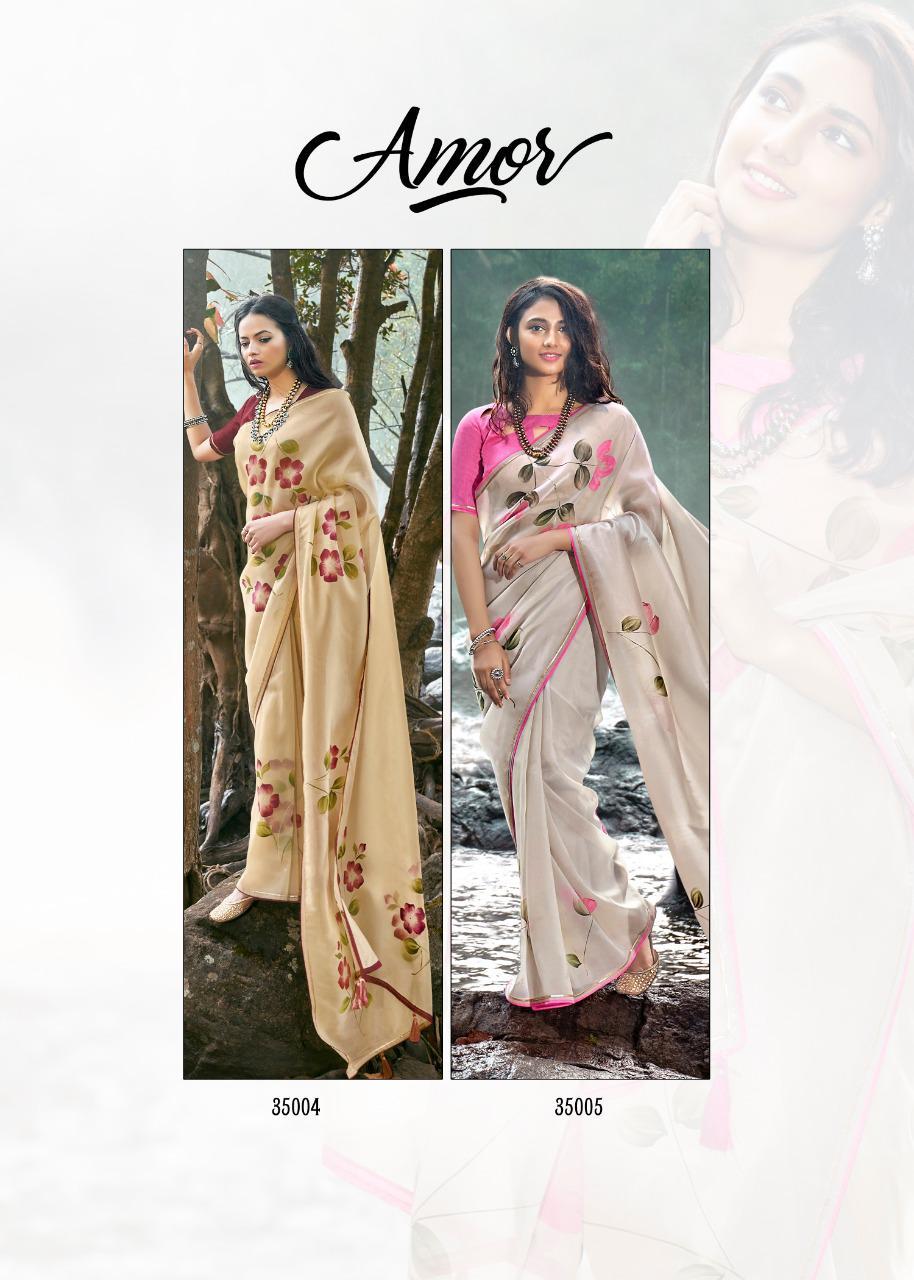 Kashvi Amor by Lt Fabrics Saree Sari Wholesale Catalog 5 Pcs 18 - Kashvi Amor by Lt Fabrics Saree Sari Wholesale Catalog 5 Pcs