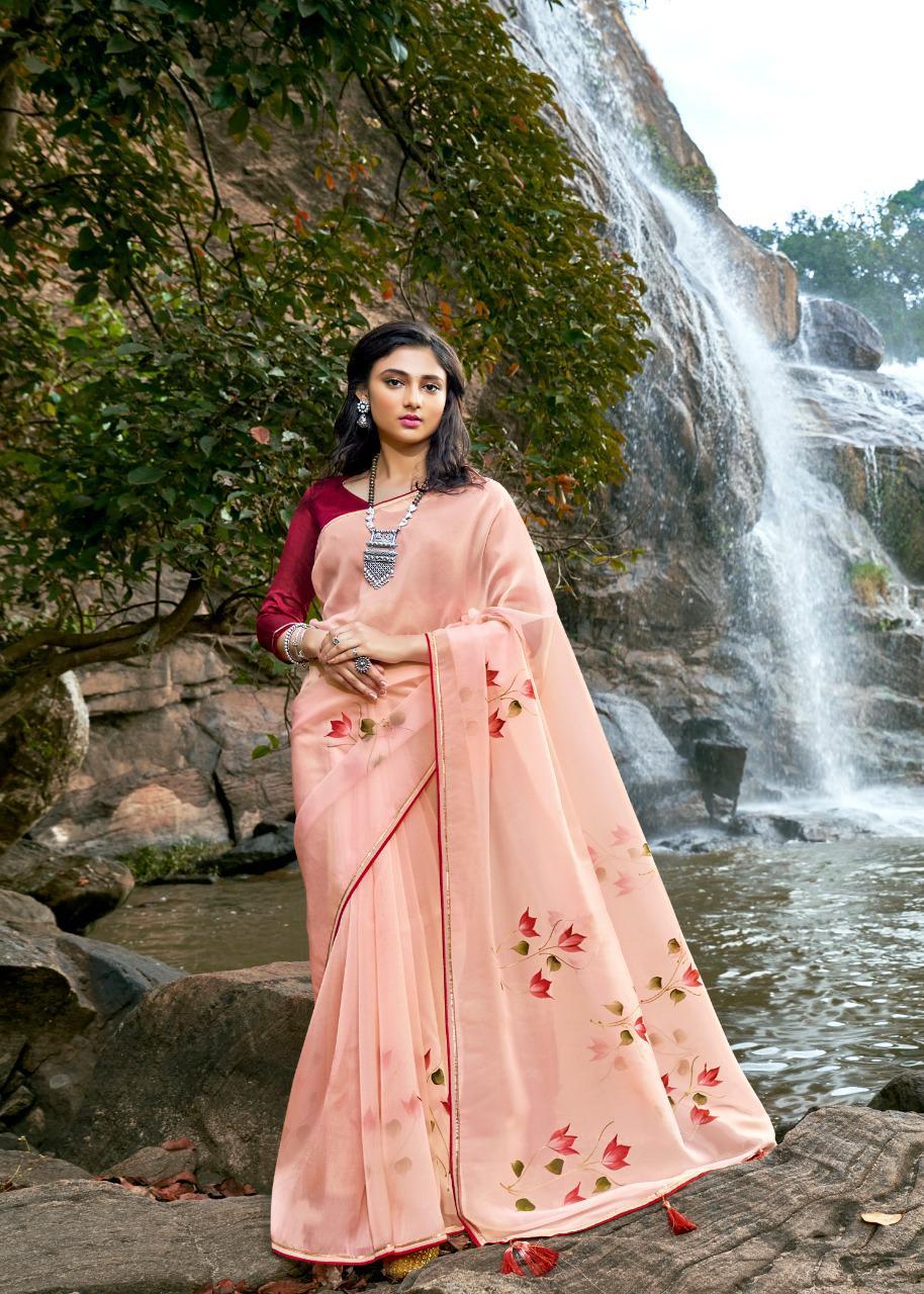 Kashvi Amor by Lt Fabrics Saree Sari Wholesale Catalog 5 Pcs 2 - Kashvi Amor by Lt Fabrics Saree Sari Wholesale Catalog 5 Pcs