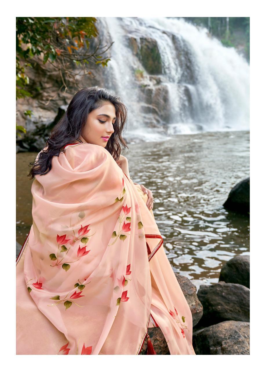 Kashvi Amor by Lt Fabrics Saree Sari Wholesale Catalog 5 Pcs 3 - Kashvi Amor by Lt Fabrics Saree Sari Wholesale Catalog 5 Pcs
