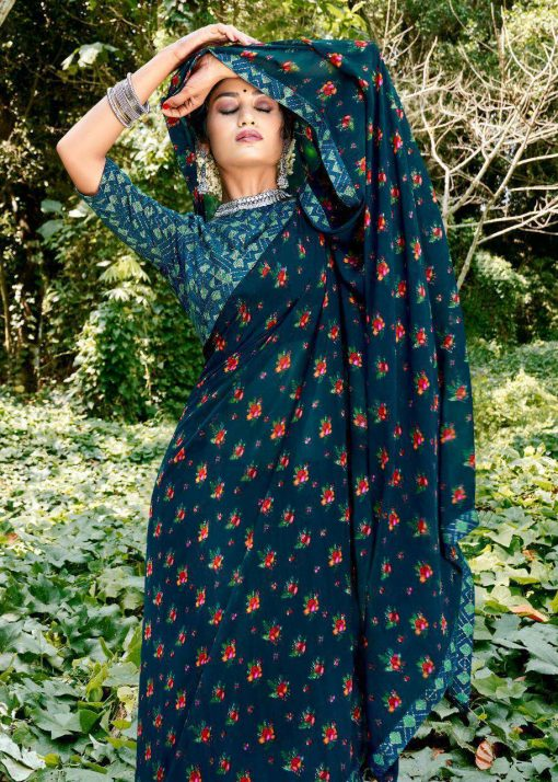 Kashvi Purva by Lt Fabrics Saree Sari Wholesale Catalog 9 Pcs 15 510x714 - Kashvi Purva by Lt Fabrics Saree Sari Wholesale Catalog 9 Pcs
