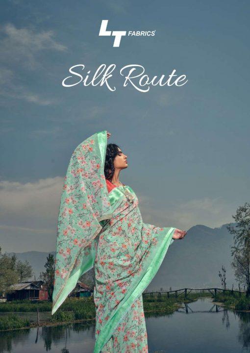 Kashvi Silk Route by Lt Fabrics Saree Sari Wholesale Catalog 10 Pcs 1 510x720 - Kashvi Silk Route by Lt Fabrics Saree Sari Wholesale Catalog 10 Pcs