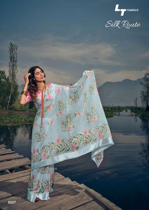 Kashvi Silk Route by Lt Fabrics Saree Sari Wholesale Catalog 10 Pcs 14 510x720 - Kashvi Silk Route by Lt Fabrics Saree Sari Wholesale Catalog 10 Pcs