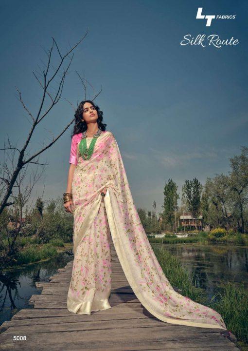 Kashvi Silk Route by Lt Fabrics Saree Sari Wholesale Catalog 10 Pcs 15 510x720 - Kashvi Silk Route by Lt Fabrics Saree Sari Wholesale Catalog 10 Pcs