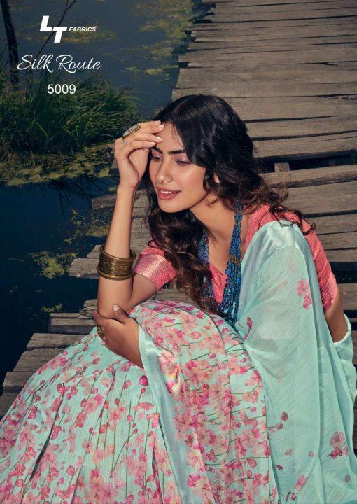 Kashvi Silk Route by Lt Fabrics Saree Sari Wholesale Catalog 10 Pcs 19 510x720 - Kashvi Silk Route by Lt Fabrics Saree Sari Wholesale Catalog 10 Pcs