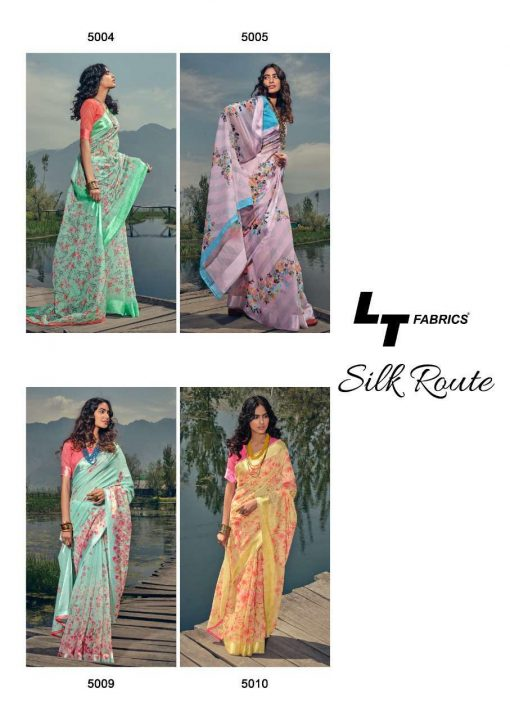 Kashvi Silk Route by Lt Fabrics Saree Sari Wholesale Catalog 10 Pcs 21 510x720 - Kashvi Silk Route by Lt Fabrics Saree Sari Wholesale Catalog 10 Pcs
