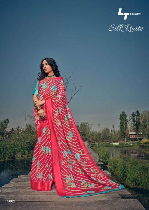 Kashvi Silk Route by Lt Fabrics Saree Sari Wholesale Catalog 10 Pcs 4 510x720 - Kashvi Silk Route by Lt Fabrics Saree Sari Wholesale Catalog 10 Pcs