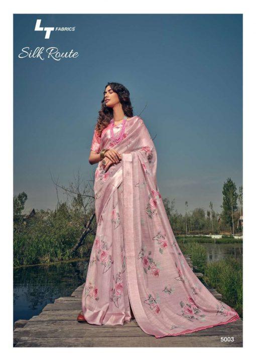 Kashvi Silk Route by Lt Fabrics Saree Sari Wholesale Catalog 10 Pcs 6 510x720 - Kashvi Silk Route by Lt Fabrics Saree Sari Wholesale Catalog 10 Pcs