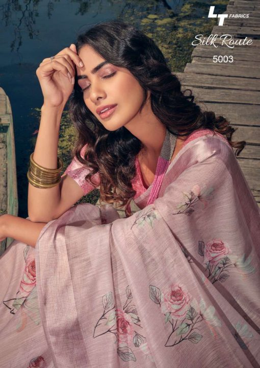 Kashvi Silk Route by Lt Fabrics Saree Sari Wholesale Catalog 10 Pcs 8 510x720 - Kashvi Silk Route by Lt Fabrics Saree Sari Wholesale Catalog 10 Pcs