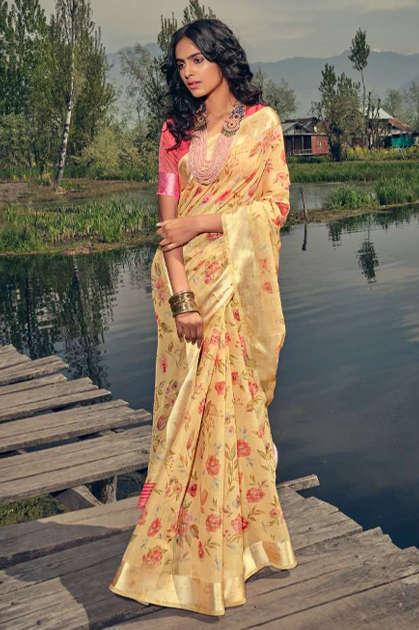 Kashvi Silk Route by Lt Fabrics Saree Sari Wholesale Catalog 10 Pcs - Kashvi Silk Route by Lt Fabrics Saree Sari Wholesale Catalog 10 Pcs