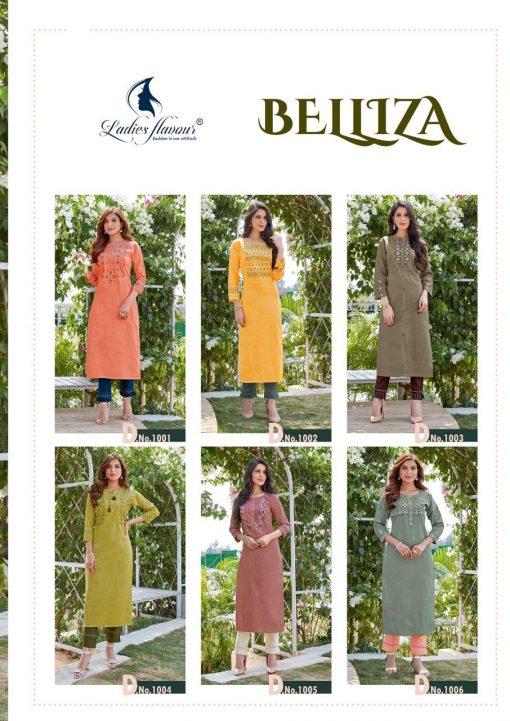 Ladies Flavour Belliza Kurti with Pant Wholesale Catalog 6 Pcs 11 2 510x721 - Ladies Flavour Belliza Kurti with Pant Wholesale Catalog 6 Pcs