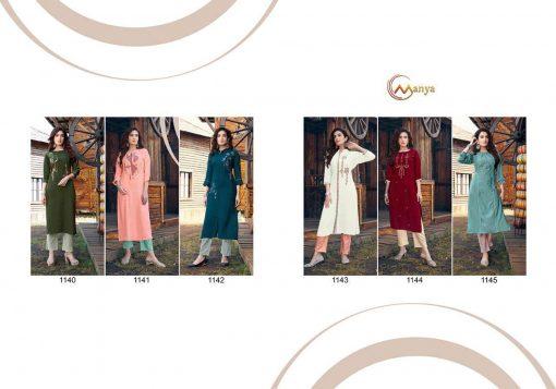 Manya Glory Kurti with Pant Wholesale Catalog 6 Pcs 12 510x357 - Manya Glory Kurti with Pant Wholesale Catalog 6 Pcs