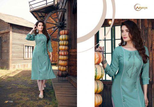 Manya Glory Kurti with Pant Wholesale Catalog 6 Pcs 6 510x357 - Manya Glory Kurti with Pant Wholesale Catalog 6 Pcs