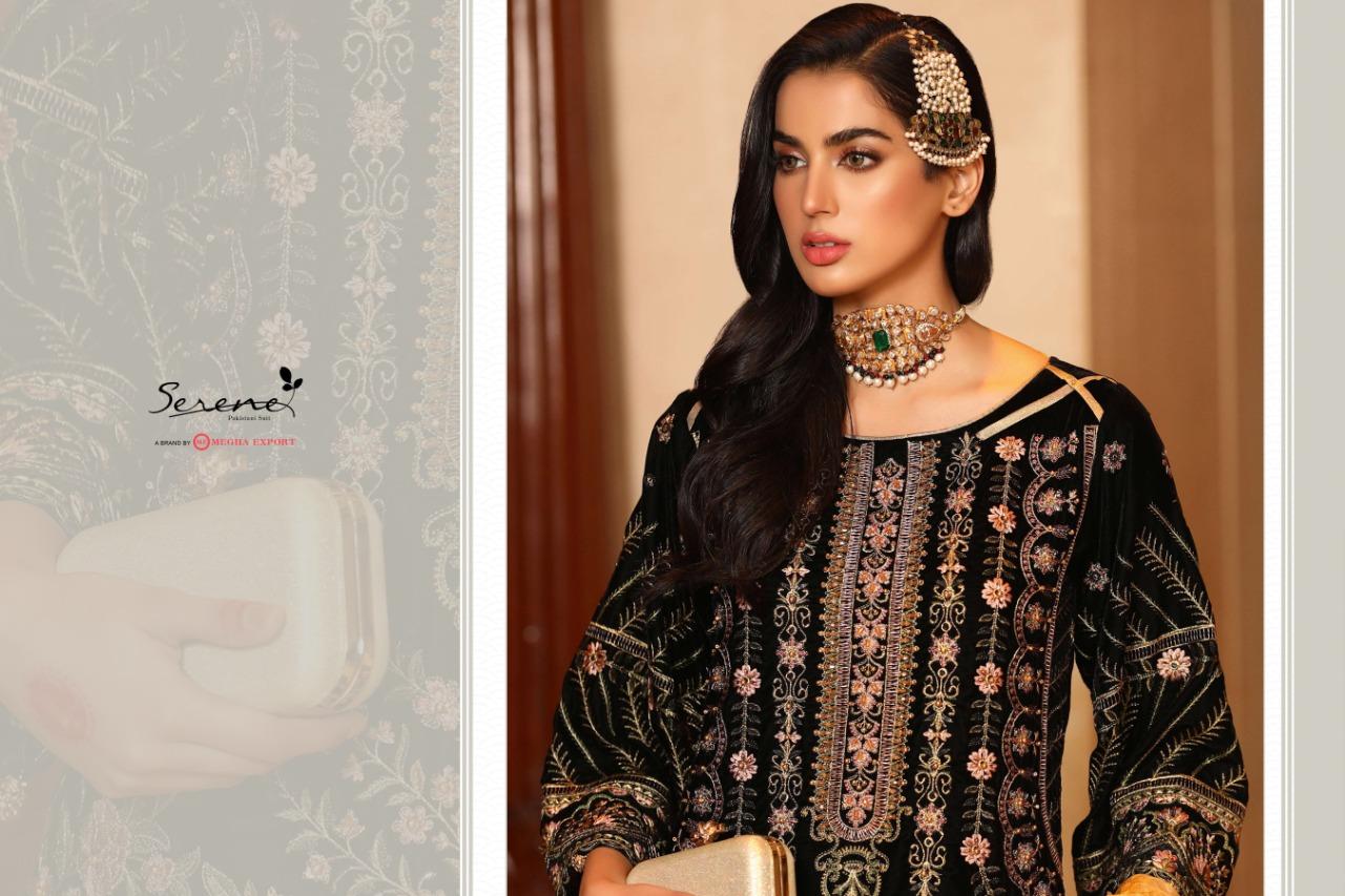 Serene Zarif NX Salwar Suit Wholesale Catalog 3 Pcs 3 - Serene Zarif NX Salwar Suit Wholesale Catalog 3 Pcs