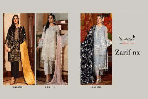 Serene Zarif NX Salwar Suit Wholesale Catalog 3 Pcs 5 510x340 - Serene Zarif NX Salwar Suit Wholesale Catalog 3 Pcs
