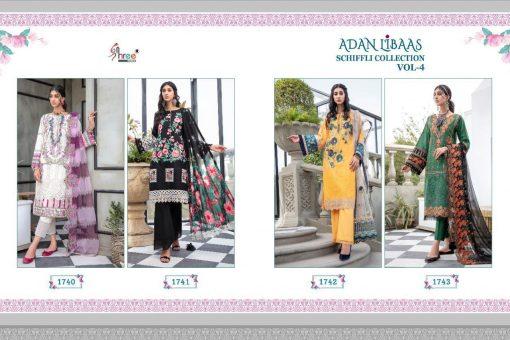 Shree Fabs Adan Libaas Schiffli Collection Vol 4 Salwar Suit Wholesale Catalog 4 Pcs 9 510x340 - Shree Fabs Adan Libaas Schiffli Collection Vol 4 Salwar Suit Wholesale Catalog 4 Pcs