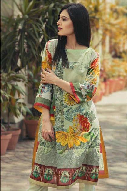 Shree Fabs Al Zohaib Lawn Collection Vol 2 Salwar Suit Wholesale Catalog 8 Pcs