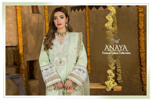 Shree Fabs Anaya Festival Lawn Collection Salwar Suit Wholesale Catalog 6 Pcs 9 510x340 - Shree Fabs Anaya Festival Lawn Collection Salwar Suit Wholesale Catalog 6 Pcs