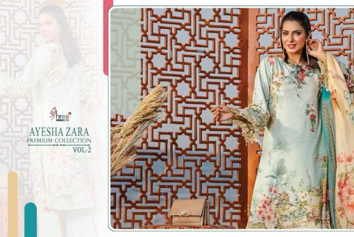 Shree Fabs Ayesha Zara Premium Collection Vol 2 Salwar Suit Wholesale Catalog 10 Pcs 16 510x342 - Shree Fabs Ayesha Zara Premium Collection Vol 2 Salwar Suit Wholesale Catalog 10 Pcs