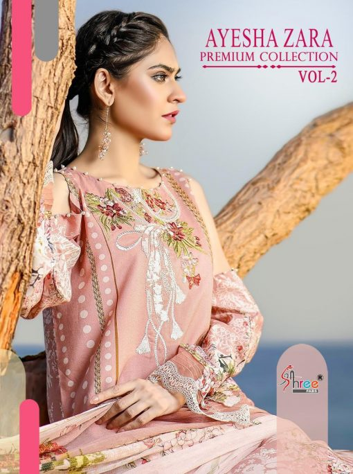 Shree Fabs Ayesha Zara Premium Collection Vol 2 Salwar Suit Wholesale Catalog 10 Pcs 2 510x684 - Shree Fabs Ayesha Zara Premium Collection Vol 2 Salwar Suit Wholesale Catalog 10 Pcs