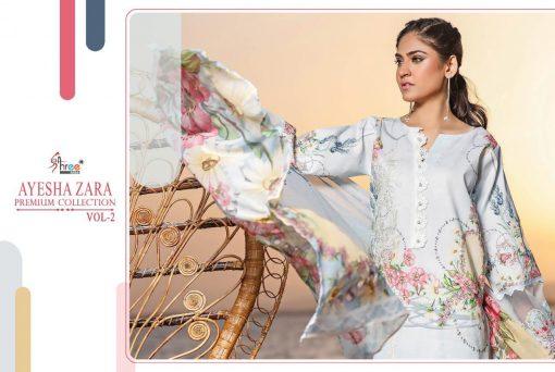 Shree Fabs Ayesha Zara Premium Collection Vol 2 Salwar Suit Wholesale Catalog 10 Pcs 20 510x342 - Shree Fabs Ayesha Zara Premium Collection Vol 2 Salwar Suit Wholesale Catalog 10 Pcs