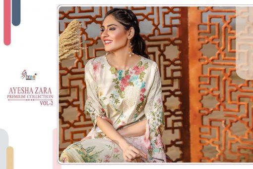 Shree Fabs Ayesha Zara Premium Collection Vol 2 Salwar Suit Wholesale Catalog 10 Pcs 4 510x342 - Shree Fabs Ayesha Zara Premium Collection Vol 2 Salwar Suit Wholesale Catalog 10 Pcs