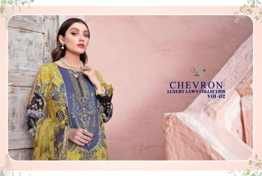 Shree Fabs Chevron Luxury Lawn Collection Vol 2 Salwar Suit Wholesale Catalog 7 Pcs 13 510x342 - Shree Fabs Chevron Luxury Lawn Collection Vol 2 Salwar Suit Wholesale Catalog 7 Pcs