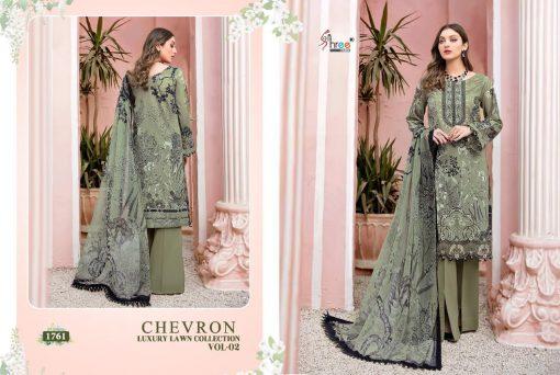 Shree Fabs Chevron Luxury Lawn Collection Vol 2 Salwar Suit Wholesale Catalog 7 Pcs 4 510x342 - Shree Fabs Chevron Luxury Lawn Collection Vol 2 Salwar Suit Wholesale Catalog 7 Pcs