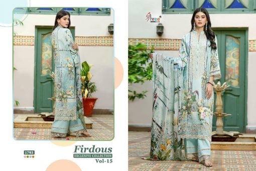 Shree Fabs Firdous Exclusive Collection Vol 15 Salwar Suit Wholesale Catalog 10 Pcs 17 510x342 - Shree Fabs Firdous Exclusive Collection Vol 15 Salwar Suit Wholesale Catalog 10 Pcs