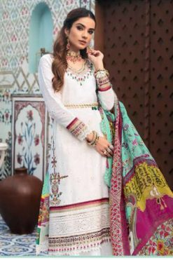 Shree Fabs Noor By Saadia Asad Vol 3 Salwar Suit Wholesale Catalog 5 Pcs